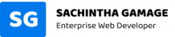 site logo sachintha gamage web developer