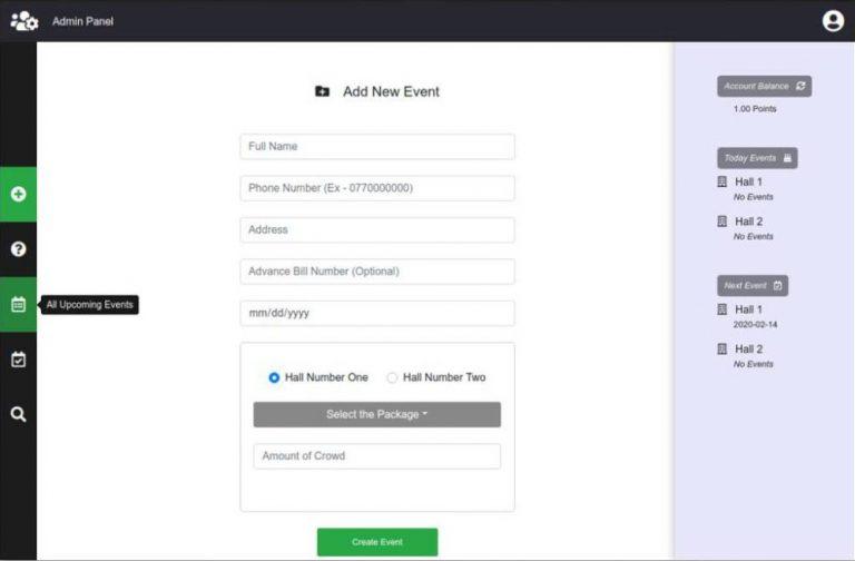 python vuejs event handling system