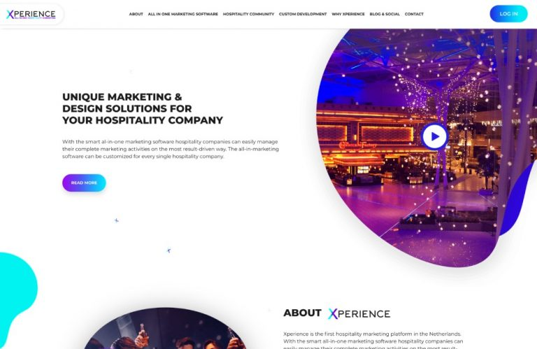 custom website development xperience